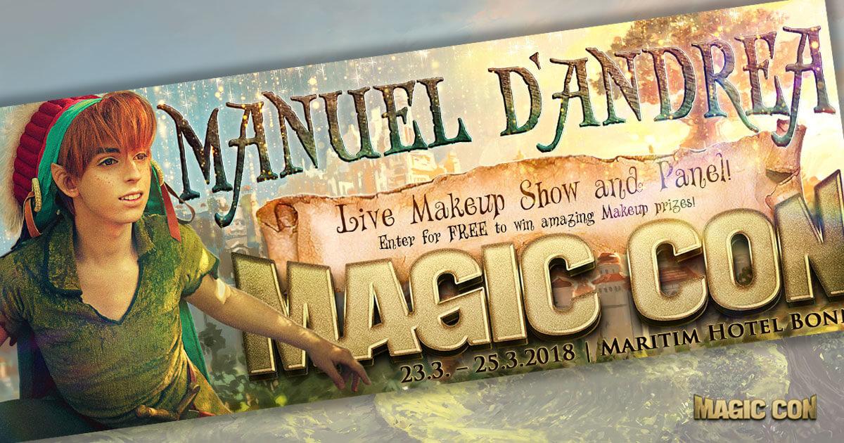 MagicCon 2 | Events | Manuel D'Andrea Live-Make-up-Show