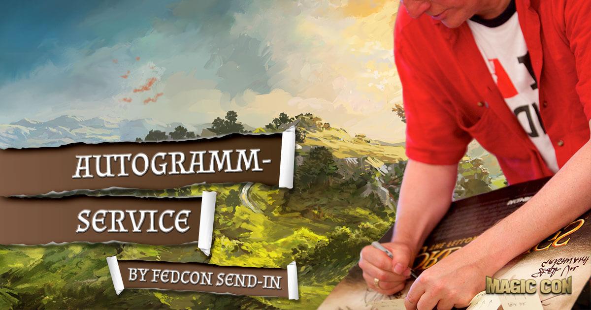 MagicCon 2 | Sonstige News | FedCon Send-in Autogramm Service
