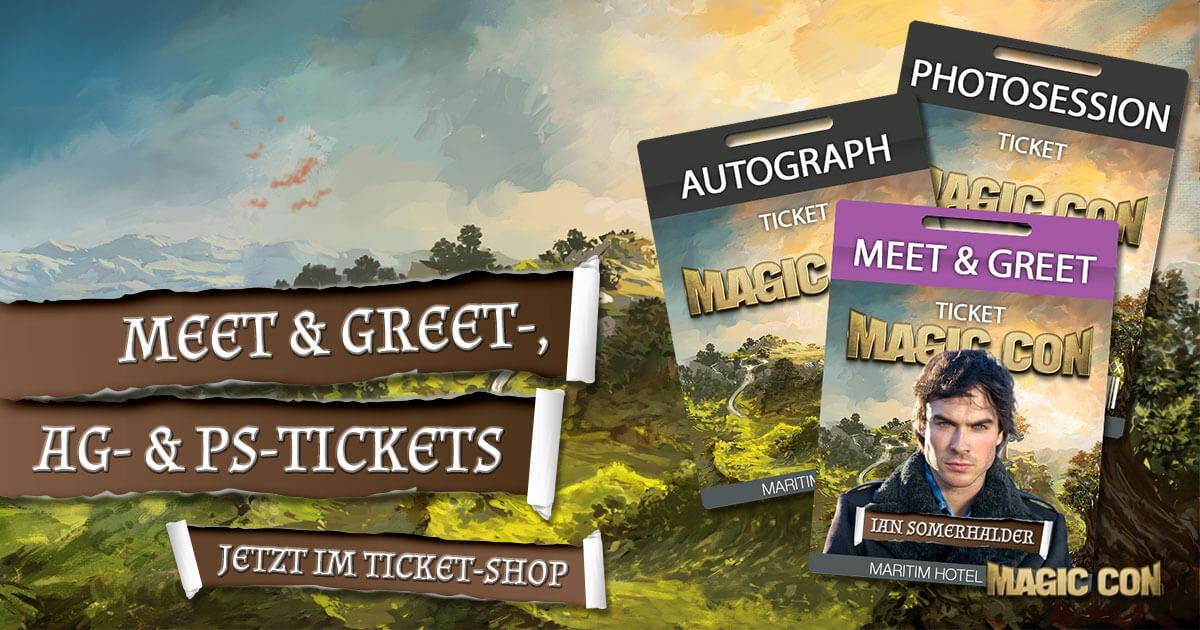 MagicCon 2 | News | Meet & Greet, AG- und PS-Tickets jetzt im Shop