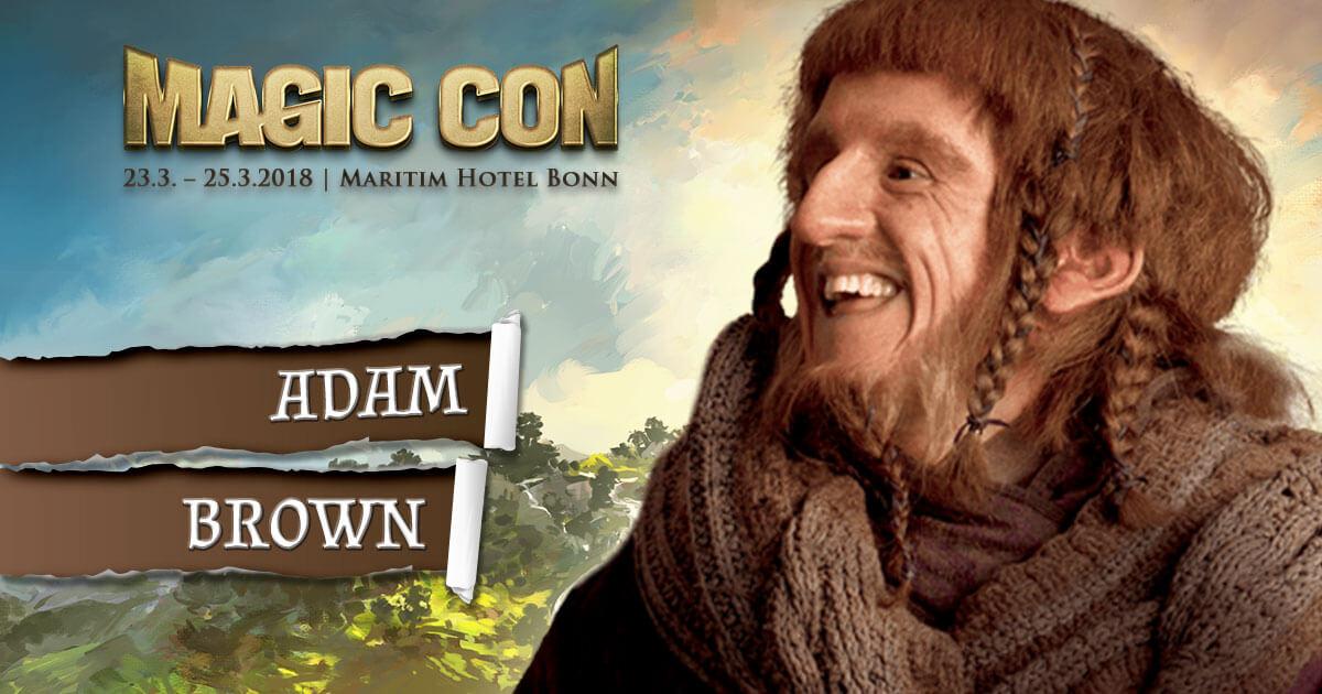 MagicCon 2 |Stargast | Adam Brown
