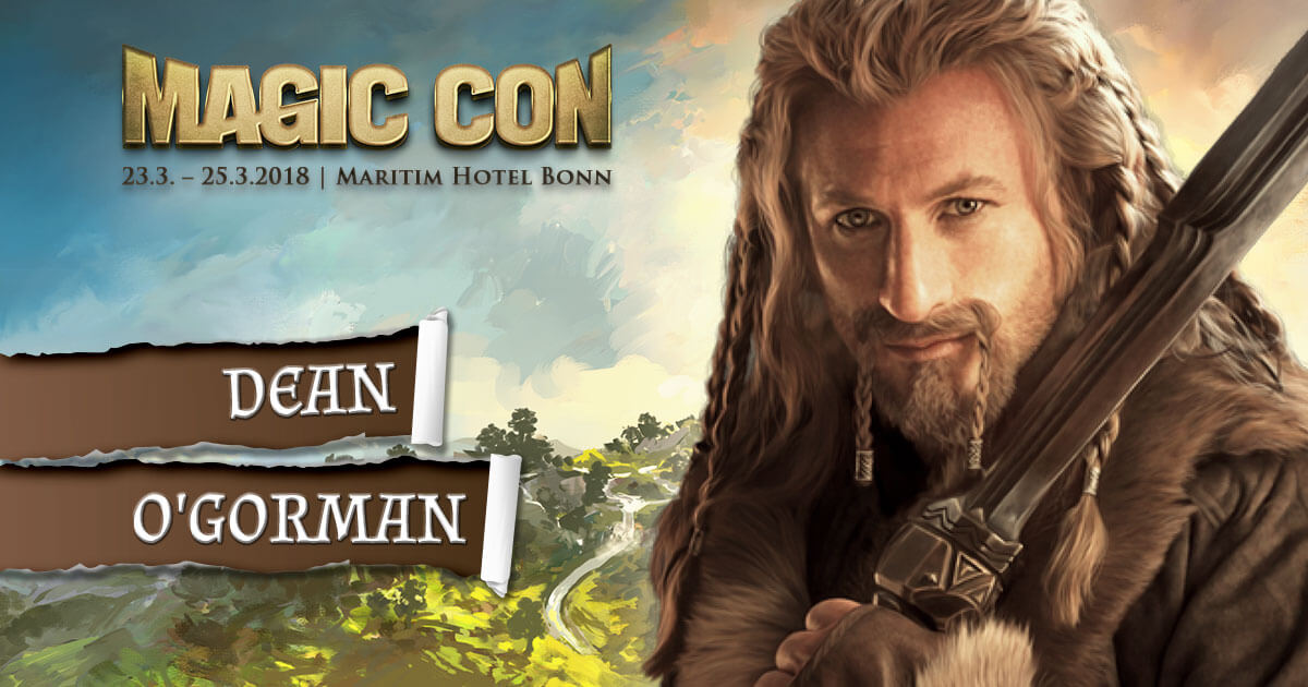 MagicCon 2 |Stargast | Dean O'Gorman