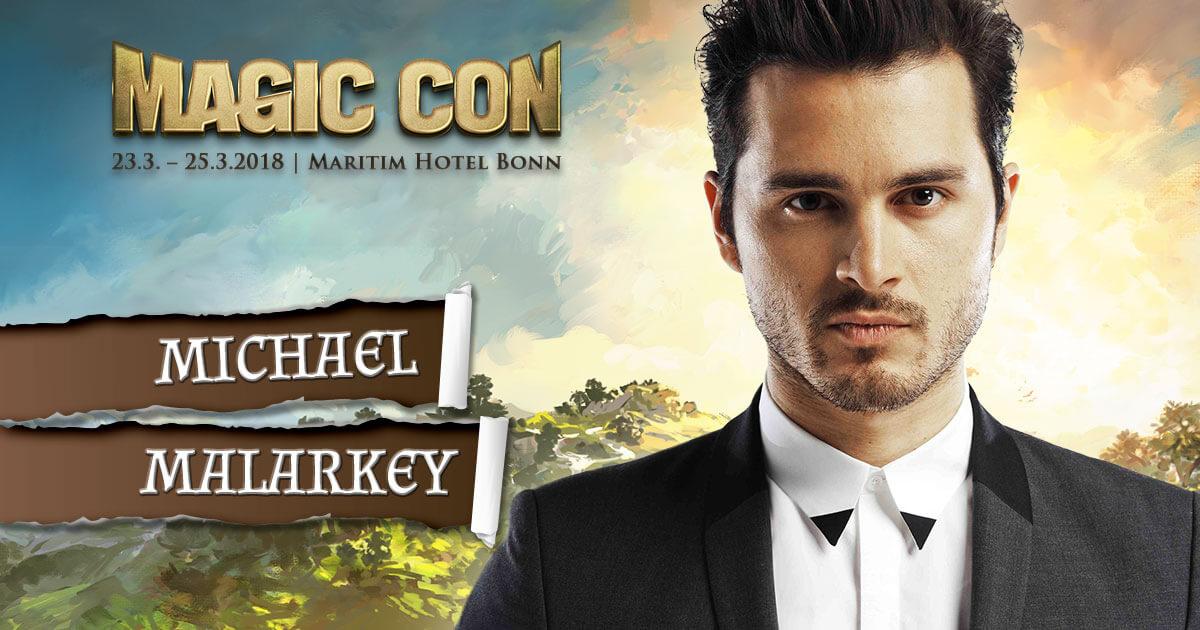 MagicCon 2 |Stargast | Michael Malarkey