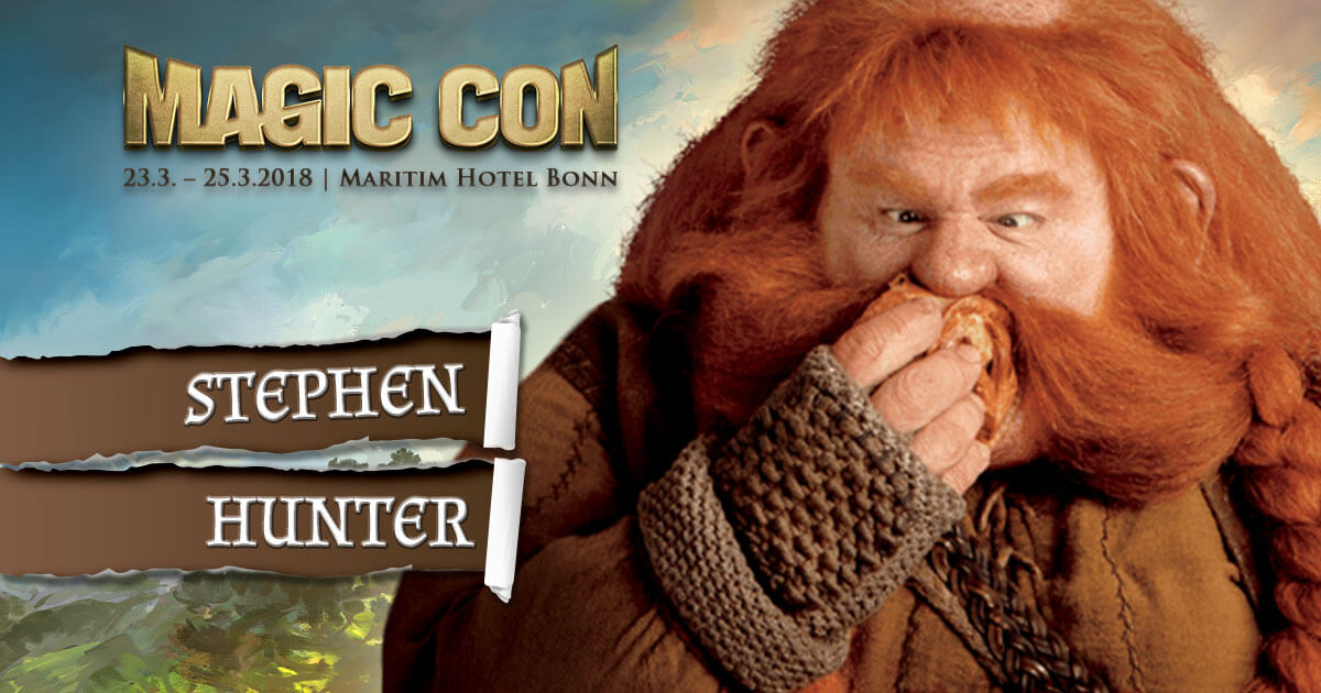 MagicCon 2 |Stargast | Stephen Hunter