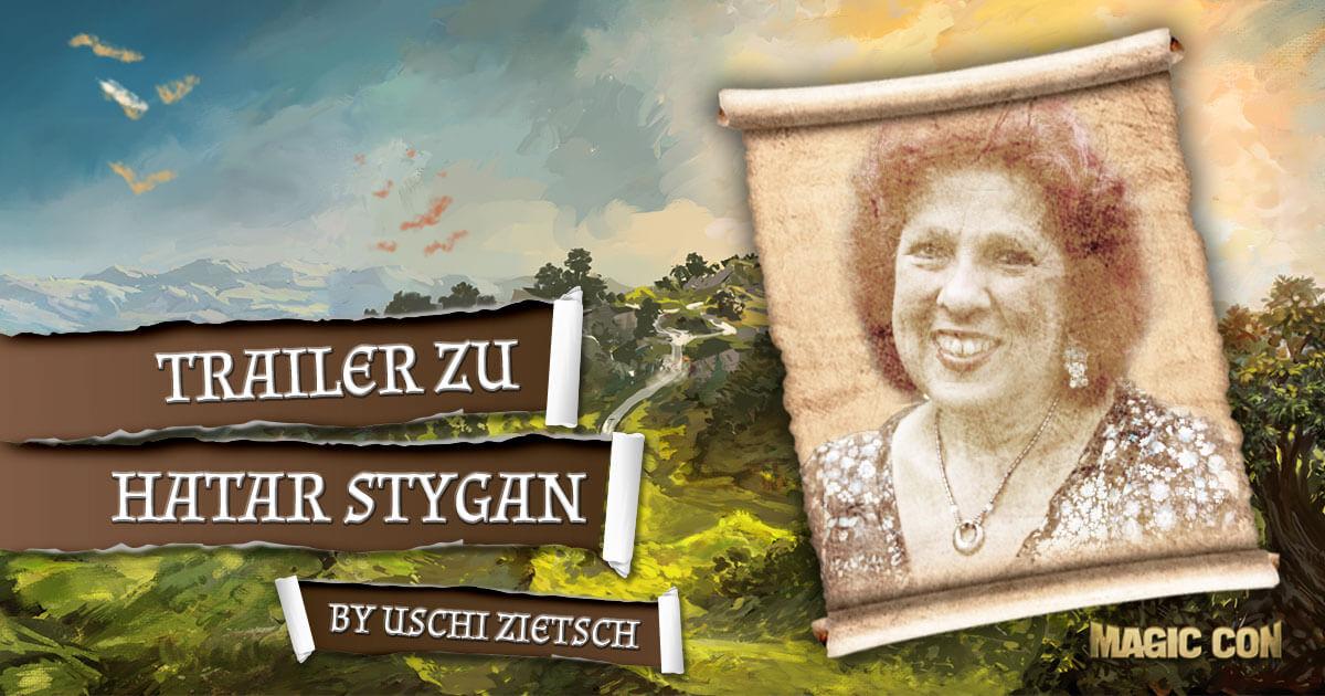 MagicCon 2 | Vortrag | Trailer und Lesung zu Hatar Stygan by Uschi Zietsch