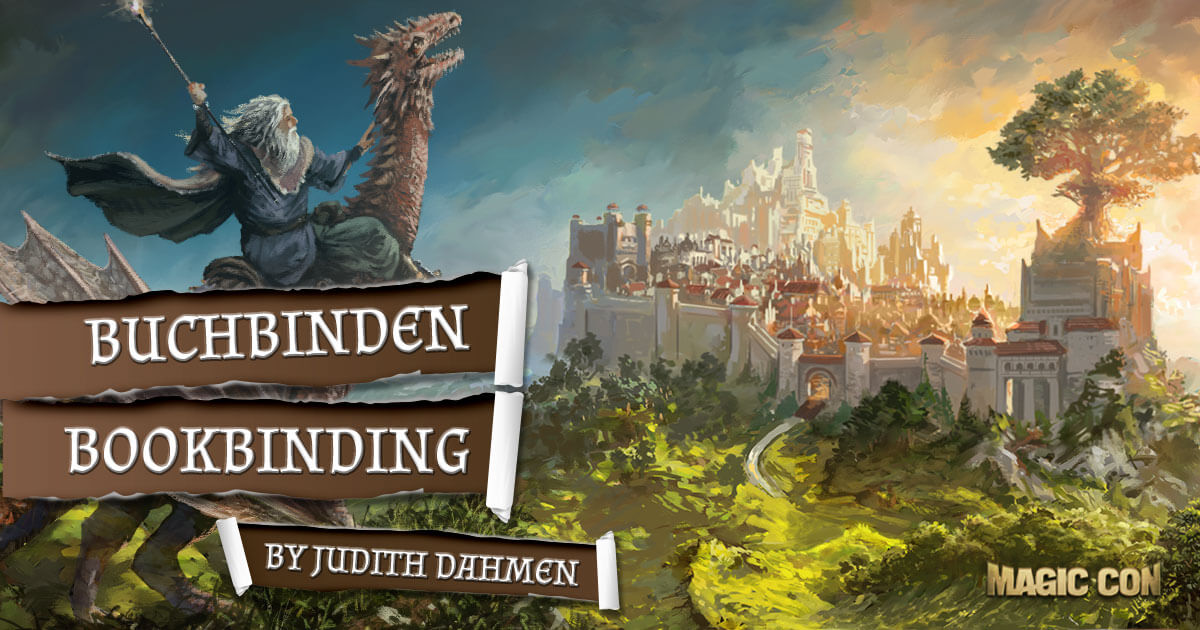 MagicCon 2 | Workshop | Buchbinden