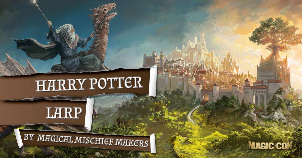 MagicCon 2 | Workshop | Harry Potter LARP by MagicalMischiefMakers e.V.