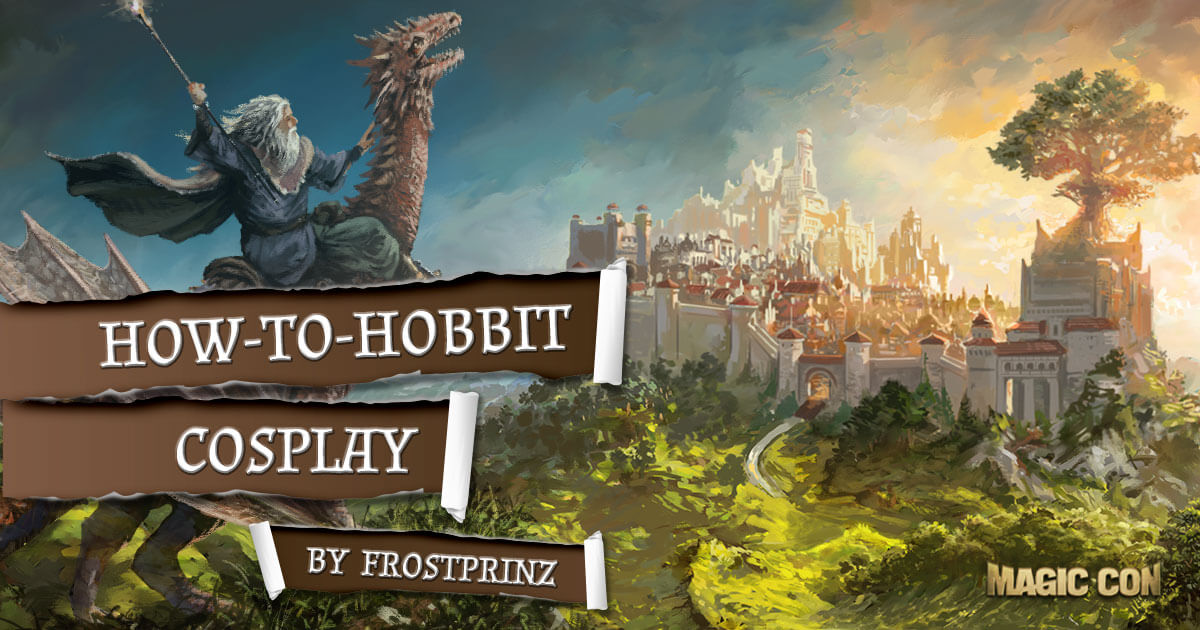 MagicCon 2 | Workshop | How-To-Hobbit Cosplay by Frostprinz