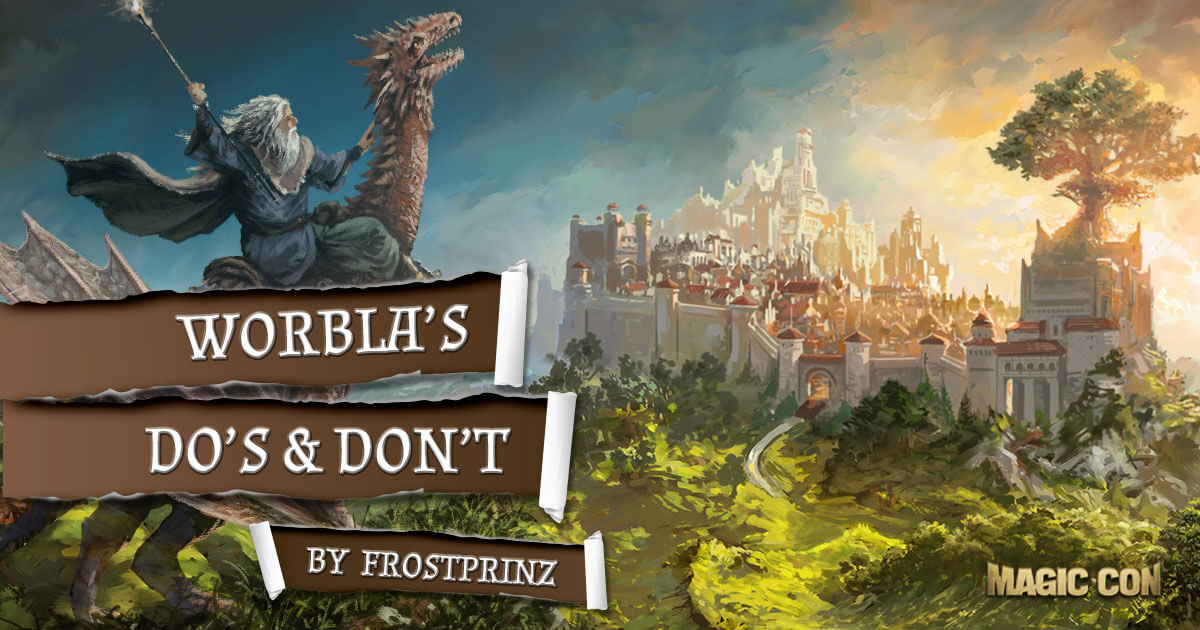 MagicCon 2 | Workshop | Worbla's Dos & Don'ts by Frostprinz