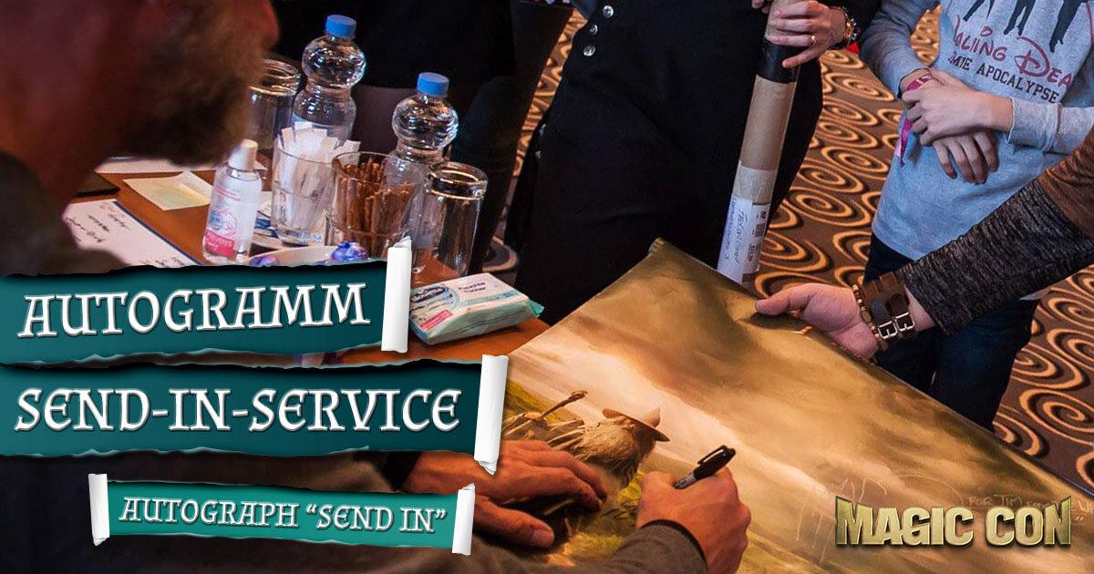 MagicCon 3 | Sonstige Infos | Autogramm Send-in-Service