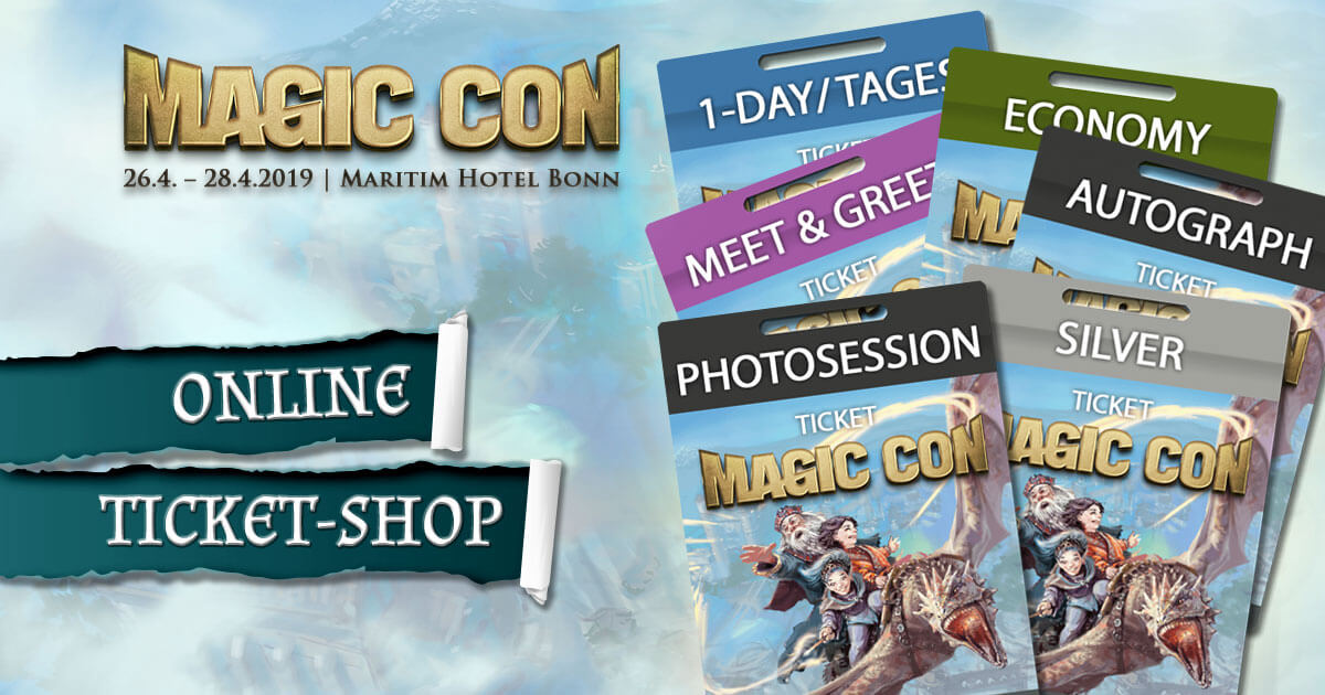 MagicCon 3 | Online-Ticket-Shop