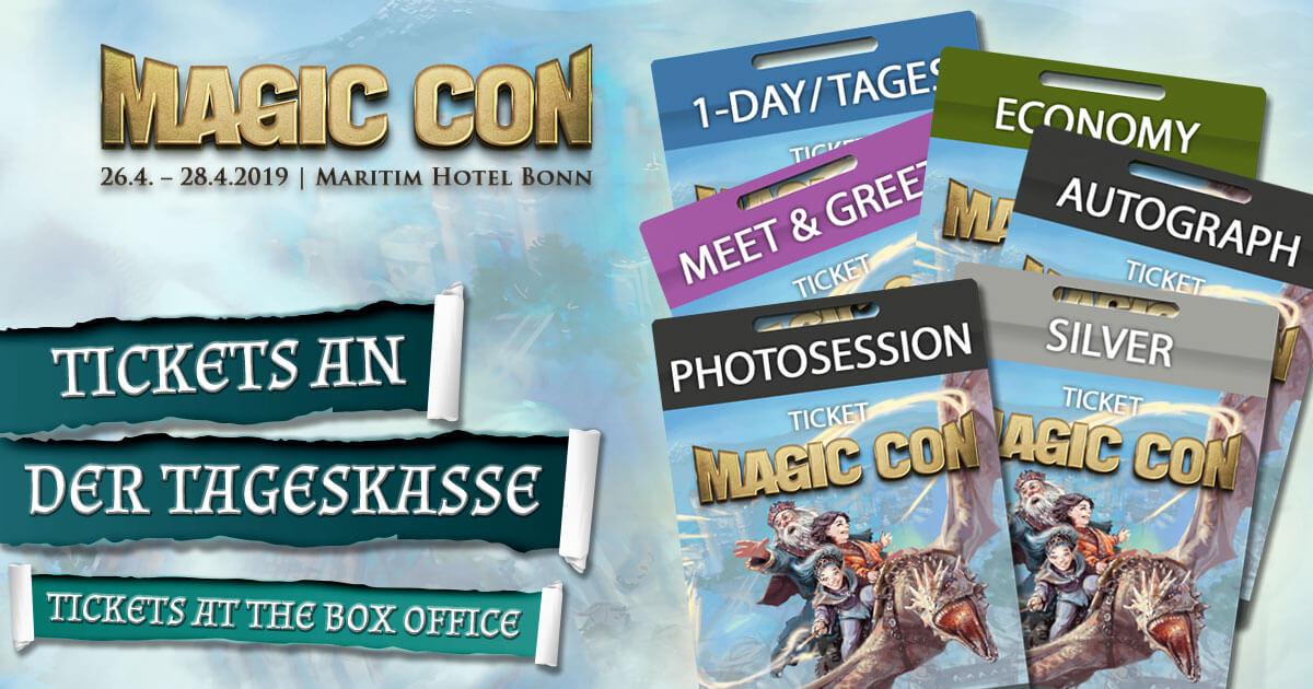 MagicCon 3 | Sonstige Infos | Tickets an der Tageskasse