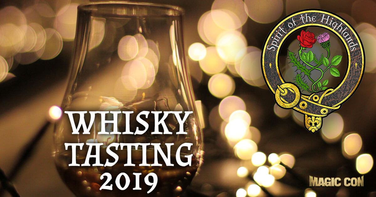 MagicCon 3 | Special-Events | Whisky Tasting 2019