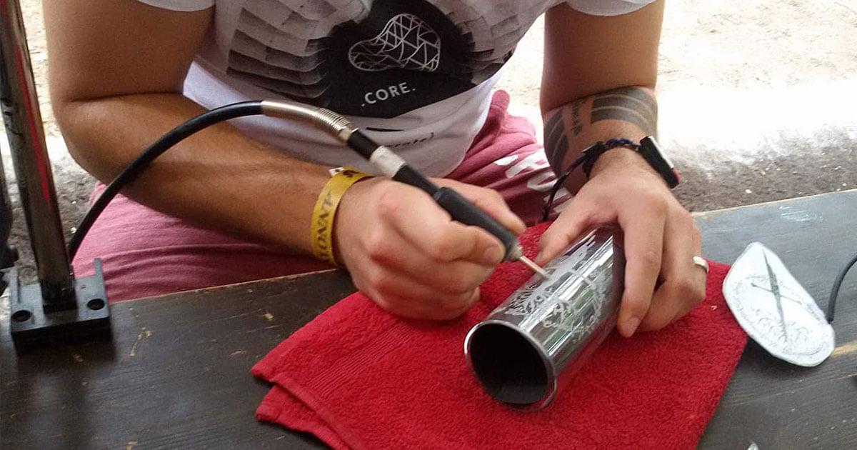 MagicCon 3 | Workshop | Gläser gravieren