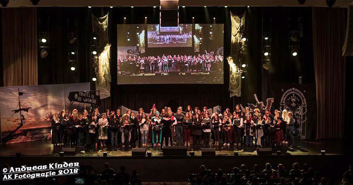 MagicCon 3 | Workshop | The Ring*Choir - Chor-Workshop (Foto: Andreas Kinder)