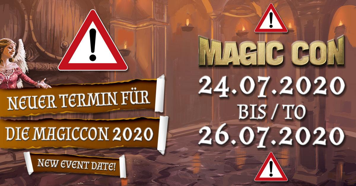 MagicCon 4 | Sonstiges | Neuer Termin für die MagicCon 2020
