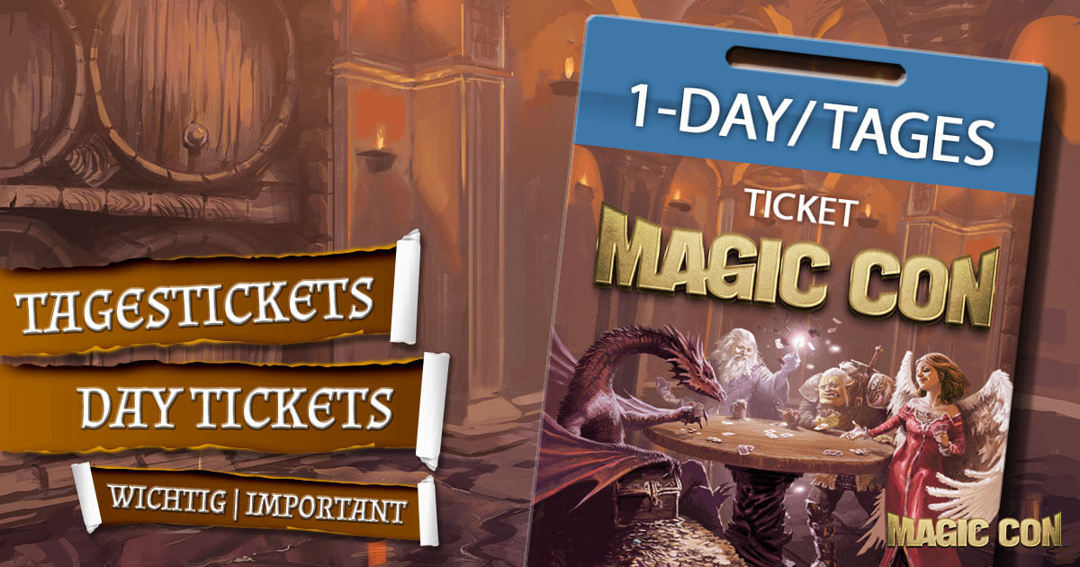 MagicCon 4 | Sonstiges | Tagestickets - Day Tickets