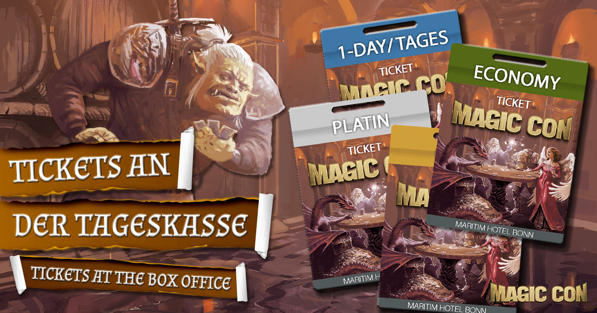 MagicCon 4 | Sonstiges | Tickets an der Tageskasse