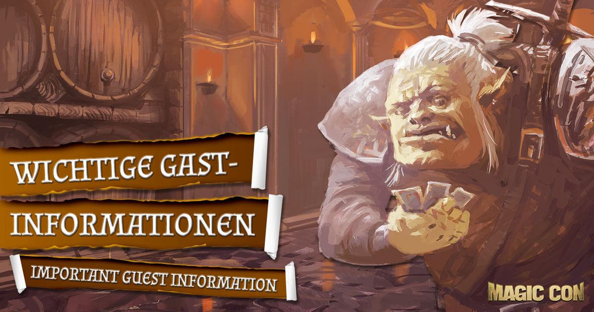 MagicCon 4 | Sonstiges | Wichtige Gast-Informationen