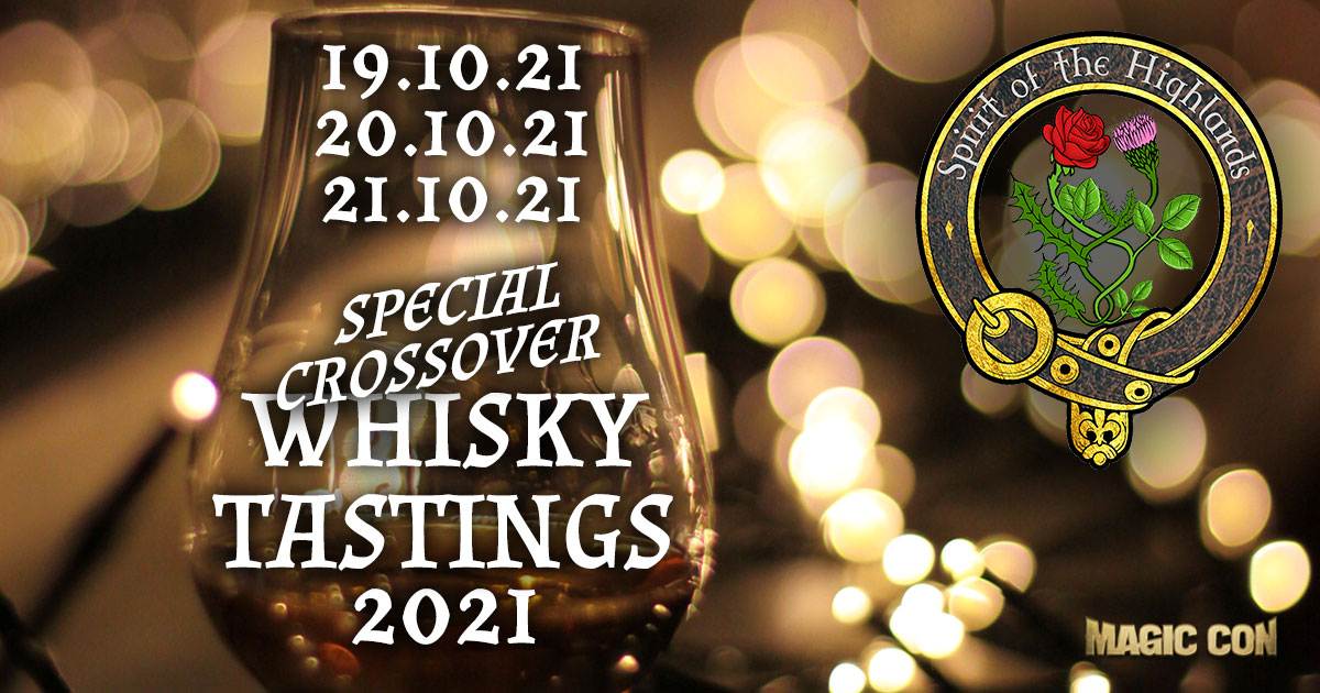 MagicCon 4 | Specials | Special Crossover Whisky Tastings