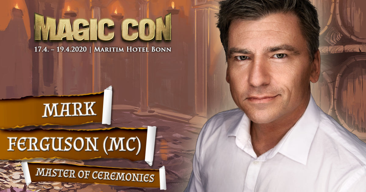 MagicCon 4 | Stargast | Mark Ferguson - Master of Ceremonies