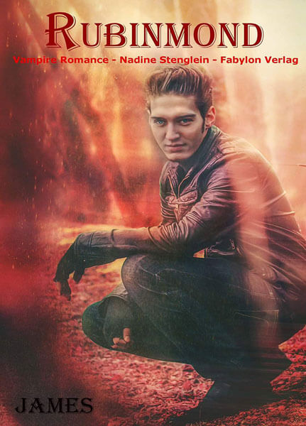 "MagicCon 4 | Stargast | Patrick Sass as vampire James in the novel ""Rubinmond"""