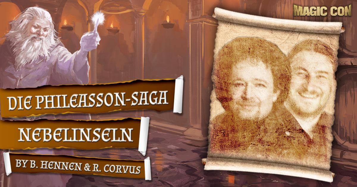 MagicCon 4 | Vortrag | Die Phileasson-Saga: Nebelinseln | by Bernhard Hennen & Robert Corvus