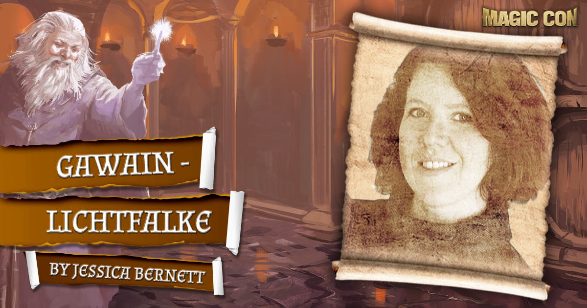 MagicCon 4 | Vortrag | Gawain - Lichtfalke | by Jessica Bernett