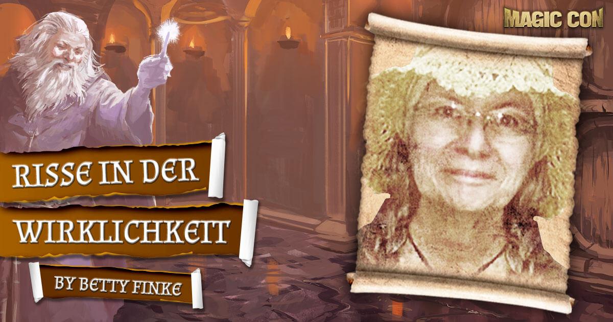 MagicCon 4 | Vortrag | Risse in der Wirklichkeit | by Betty Finke