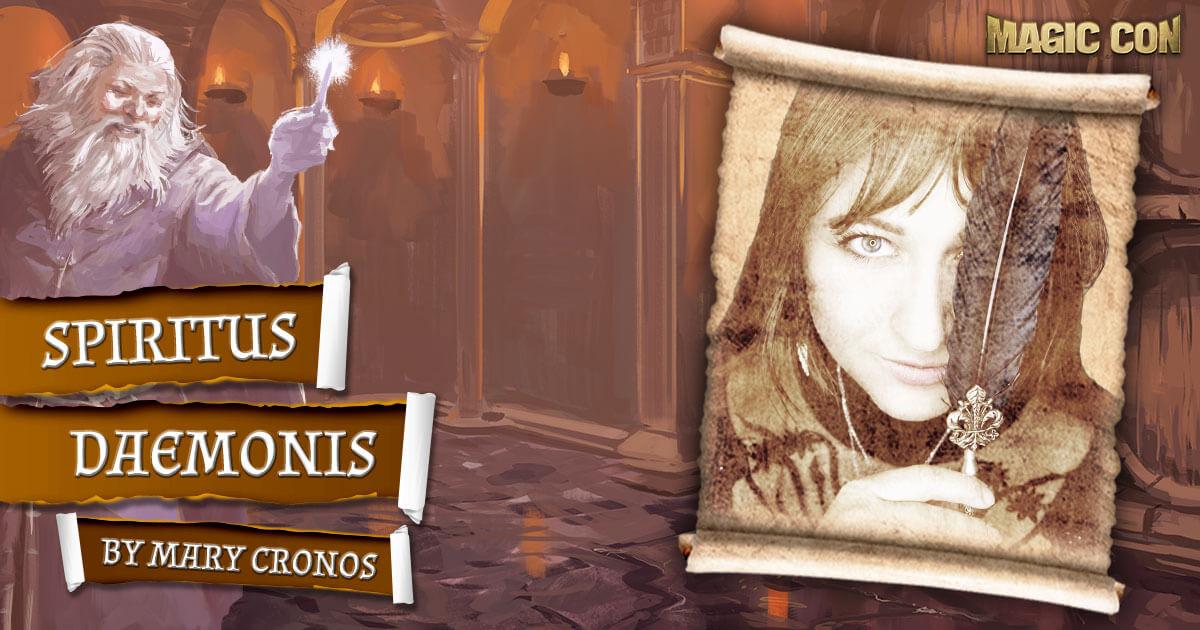 MagicCon 4 | Vortrag | Spiritus Daemonis | by Mary Cronos