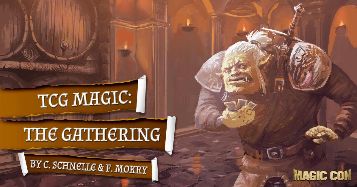 MagicCon 4 | Workshop | TCG Magic: The Gathering | by C. Schnelle & F. Mokry