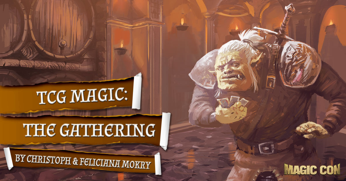 MagicCon 4 | Workshop | TCG Magic: The Gathering | by Christoph & Feliciana Mokry